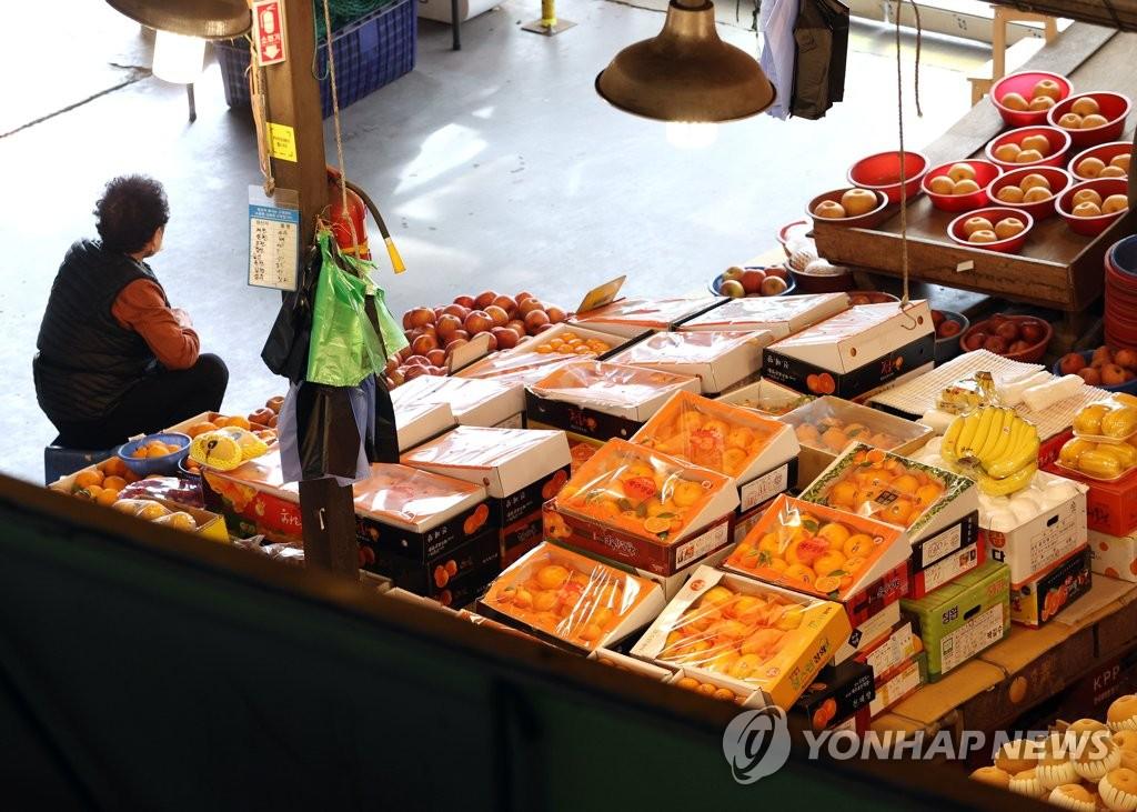 서울 마포농수산물시장 [연합뉴스 자료사진]