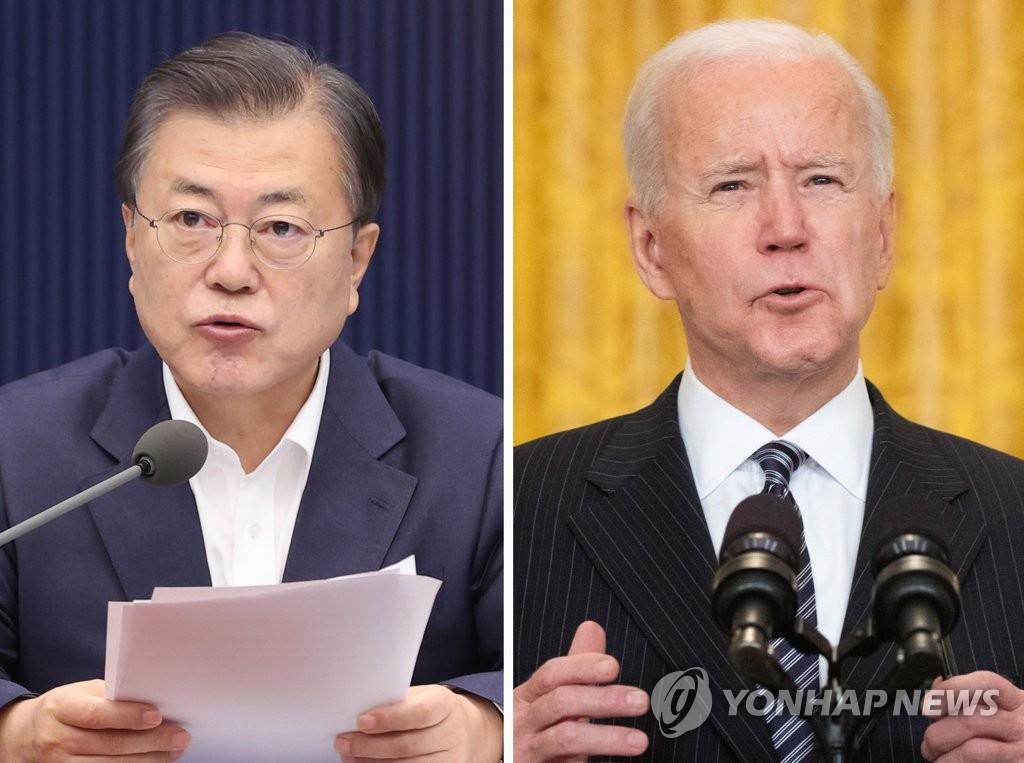 문대통령, 22일 기후정상회의…바이든과 화상 만남